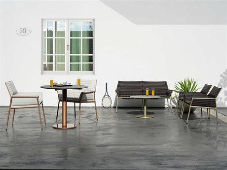 Mamagreen Andy Aluminum Cushion Lounge Set