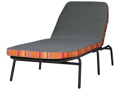 Mamagreen Bono Aluminum Cushion Stackable Chaise Lounge