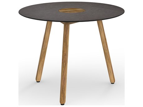Mamagreen Bono Teak 39''Wide Round Dining Table