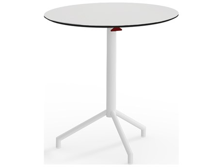 Mamagreen Caffe Stainless Steel 27''Wide Round Bistro Table