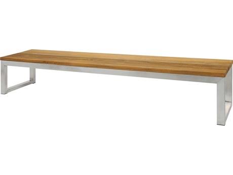 Mamagreen Oko Steel Teak Bench