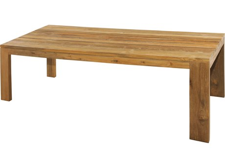 Mamagreen Eden Teak 98''W x 39''D Rectangular Dining Table