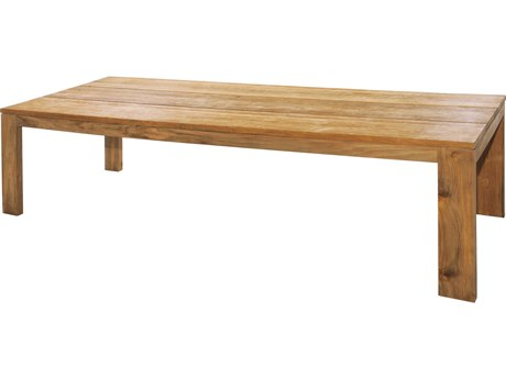 Mamagreen Eden Teak 118''W x 39''D Rectangular Dining Table