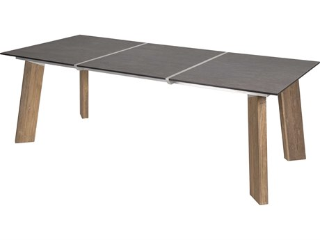 Mamagreen Tajax Teak 86''W x 39''D Rectangular Dining Table