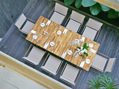 Mamagreen Natun Steel Dining Set