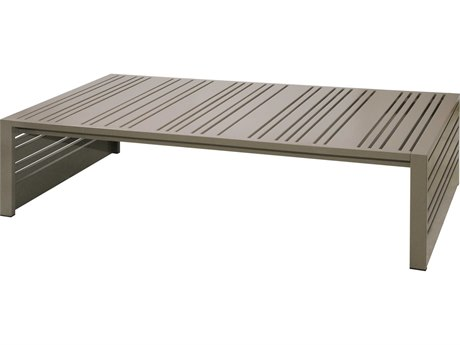 Mamagreen Yuyup Alumonum 61''W x 31''D Rectangular Coffee Table