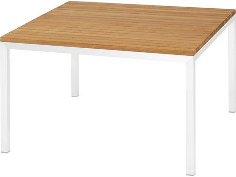 Mamagreen Polly Aluminum 31''Wide Square Chat Table