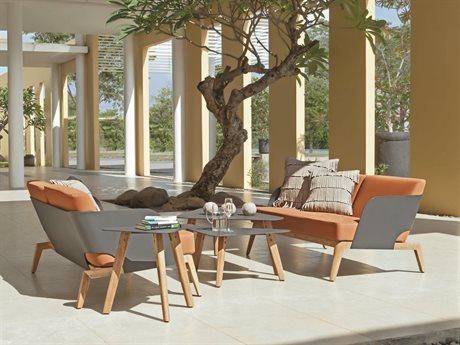 Mamagreen Kaat Teak Cushion Lounge Set