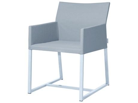 Mamagreen Mono Aluminum Cushion Dining Arm Chair