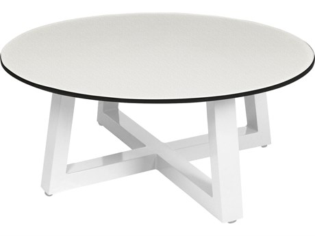 Mamagreen Mono Aluminum 27''Wide Round Coffee Table