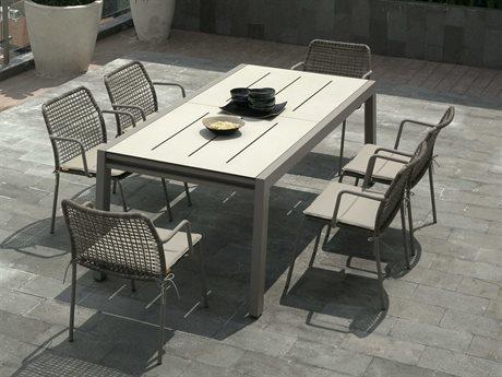 Baia Aluminum Dining Set