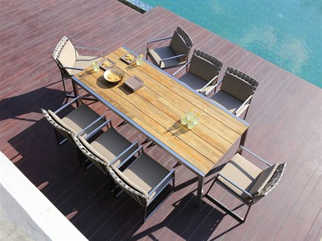 Mamagreen Baia Steel Dining Set PatioLiving