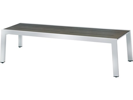Mamagreen Baia Stainless Steel Resin 57'' Bench