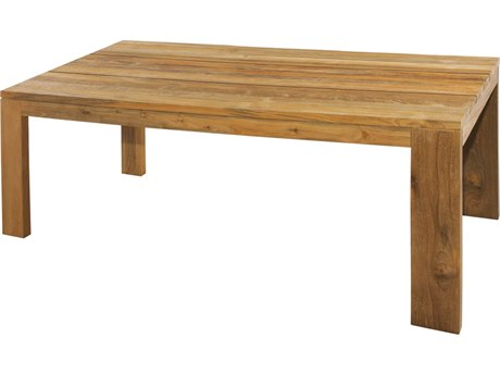 Mamagreen Eden Teak 78''W x 39''D Rectangular Dining Table