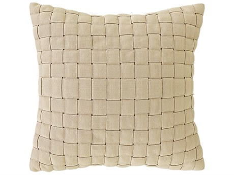 Mamagreen Weave 17.5 Square Pillow