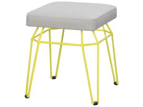 Mamagreen Match Aluminum Cushion Square Dining Stool