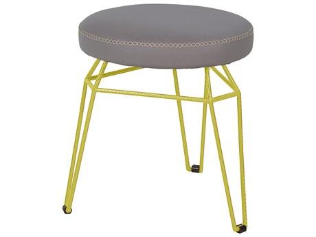 Mamagreen Match Aluminum Cushion Round Dining Stool