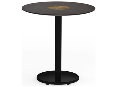 Mamagreen Stizzy Aluminum 27''Wide Round Bistro Table