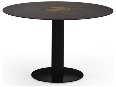 Mamagreen Stizzy Aluminum 50''Wide Round Dining Table
