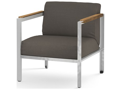 Mamagreen Industrial Aluminum Cushion Lounge Chair