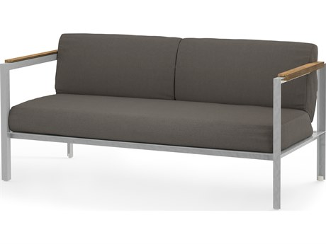 Mamagreen Industrial Aluminum Cushion Loveseat