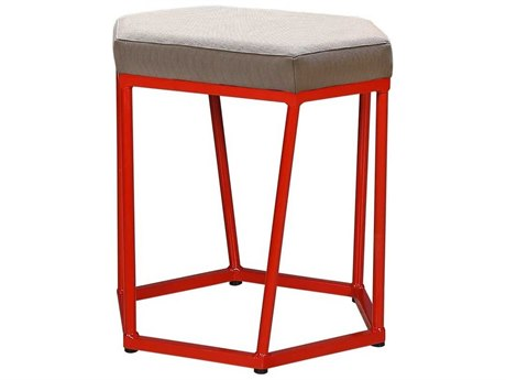 Mamagreen Polygon Aluminum Cushion Dining Stool