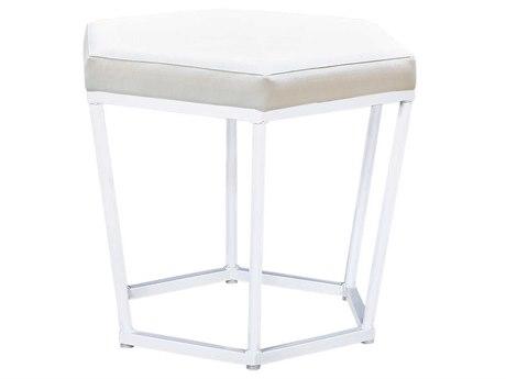 Mamagreen Polygon Aluminum Cushion Dining Stool