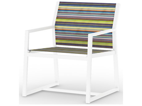 Mamagreen Stripe Aluminum Sling Lounge Chair