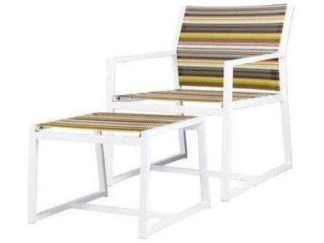 Mamagreen Stripe Aluminum Sling Lounge Set