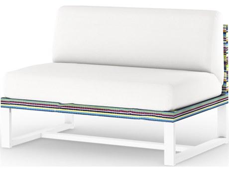 Mamagreen Stripe Aluminum Cushion Modular Lounge Chair
