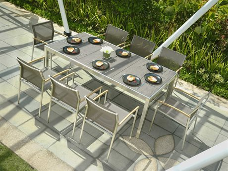 Mamagreen Zix Steel Dining Set