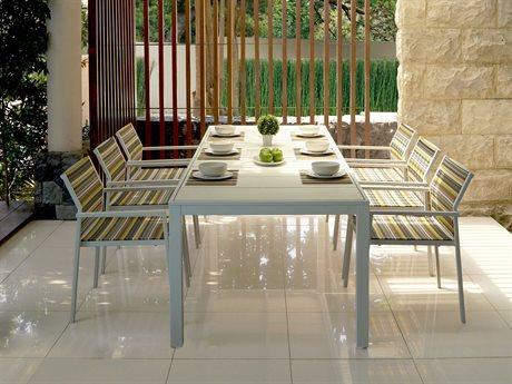 Mamagreen Allux Aluminum Dining Set