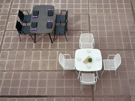 Mamagreen Zupy Aluminum Steel Dining Set
