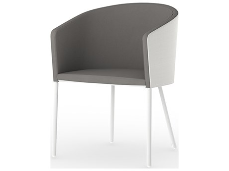 Mamagreen Zupy Aluminum Cushion Dining Chair