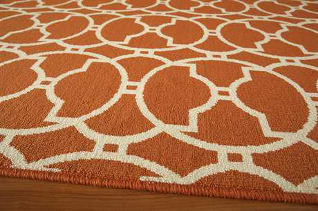 Momeni Baja 2'3'' x 7'6'' Rectangular Orange Runner Rug