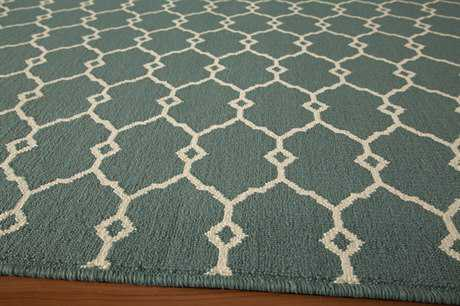Momeni Baja 2'3'' x 7'6'' Rectangular Blue Runner Rug