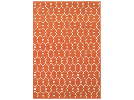 Momeni Baja Orange Area Rug