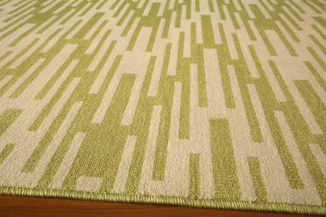 Momeni Baja 2'3'' x 7'6'' Rectangular Green Runner Rug