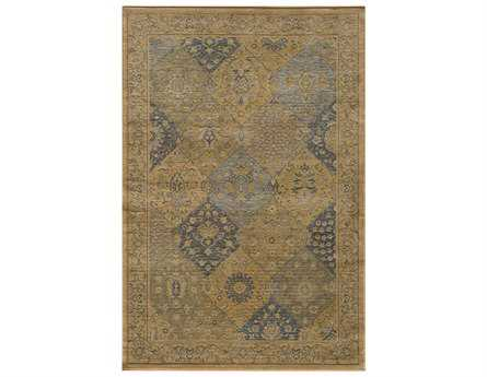 Momeni Belmont Rectangular Blue Area Rug