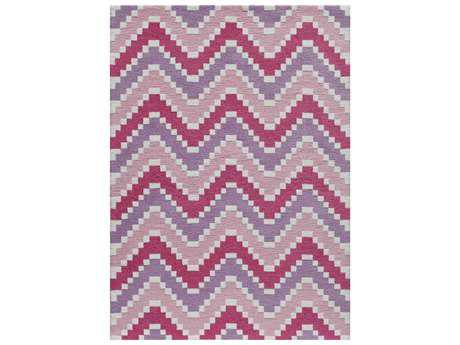 Momeni Heavenly Rectangular Pink Area Rug