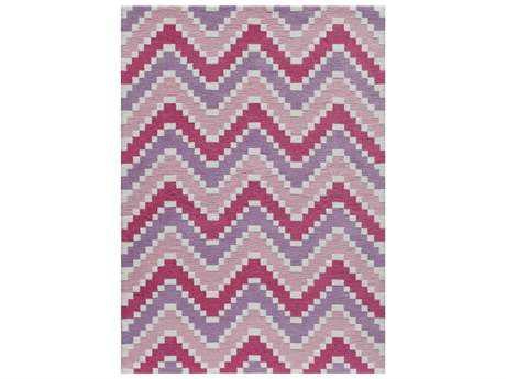 Momeni Heavenly Rectangular Pink Area Rug