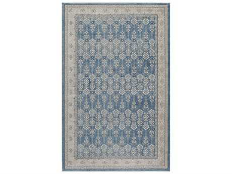 Momeni Kerman Rectangular Blue Area Rug