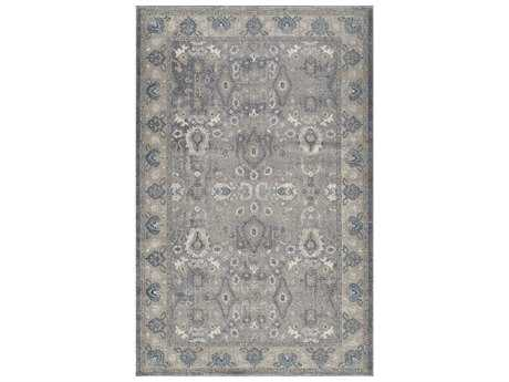 Momeni Kerman Rectangular Silver Area Rug