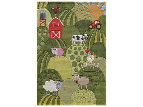 Momeni Lil Mo Whimsy Rectangular Grass Area Rug