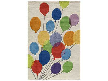 Momeni Lil Mo Whimsy Rectangular Balloons Area Rug