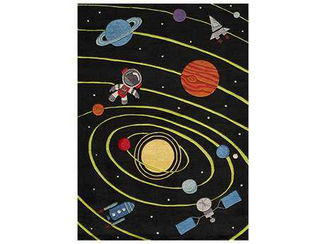 Momeni Lil Mo Whimsy Black Area Rug