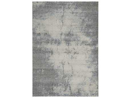 Momeni Loft Rectangular Gray Area Rug