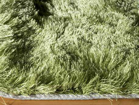 Momeni Luster Shag Apple Green Area Rug