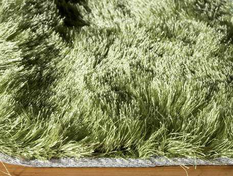 Momeni Luster Shag Apple Green Area Rug