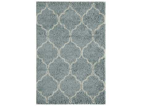 Momeni Maya Rectangular Blue Area Rug